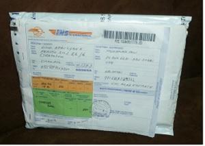 EMS paket