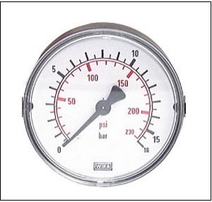 pressure gauge analog