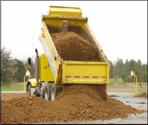 truk tanah urug