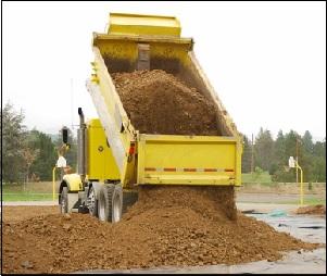 Cara mengetahui  jumlah truk yang dibutuhkan untuk mengangkut tanah urug