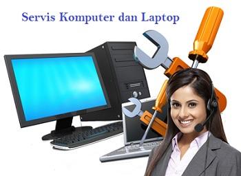 Jasa servis komputer dan laptop software dan hardware