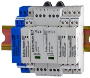 Pemasangan leak earth detector pada DIN rail