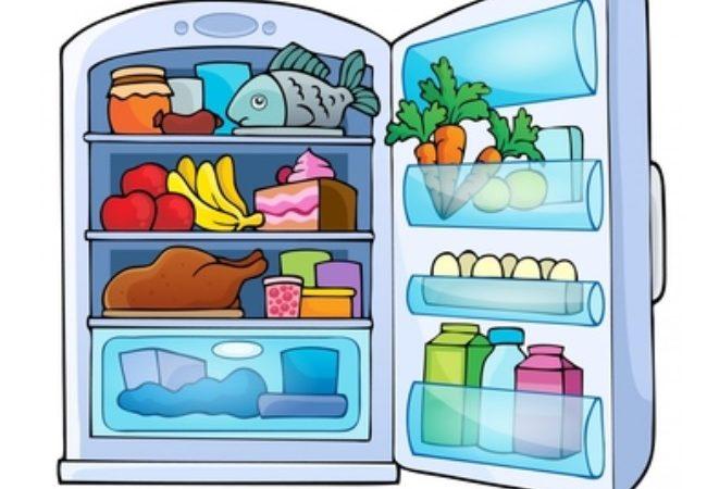 Penyimpanan bahan makan di kulkas yang tidak benar
