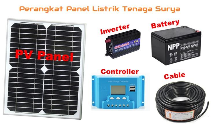 Solar Panel Listrik Tenaga Surya Photovoltaic