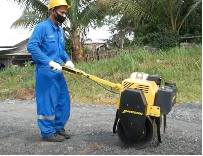 Peralatan Pemadatan Tanah Skala Kecil